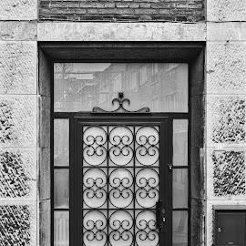 Door by Lieven Lema - Buildings & Architecture Architectural Detail ( ©2014, hasselt, fujiwalk, lieven lema )