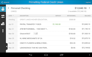 Screenshot of PrimeWay Federal Credit Union