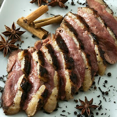 Tea-Smoked Duck Breast