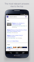 Screenshot of Yahoo Search