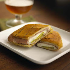 Cuban Sandwich With Fresh Goat Cheese