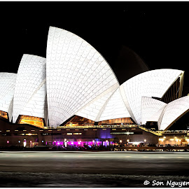 Sydney Opera House by Sơn Nguyễn - Buildings & Architecture Public & Historical ( icon, cityscape, architecture, opera house, sydney )