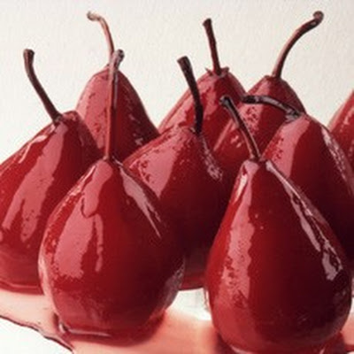 Pears Baked in Marsala Wine
