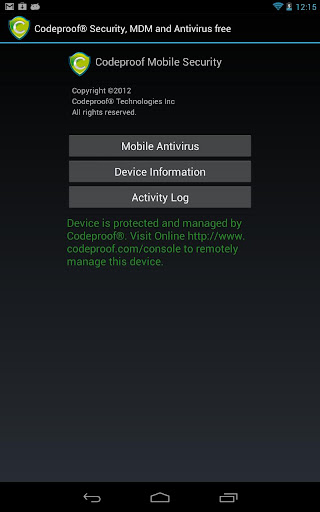 Codeproof MDM for Android