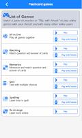 Screenshot of IELTS Flashcards