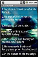 Screenshot of Life Of Prophet Muhammed(pbuh)