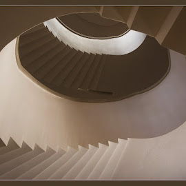Stairway by David Solodar - Buildings & Architecture Other Interior ( stairway )