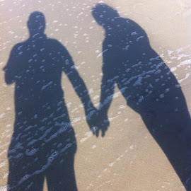 Shadow of love by Charles Fish - People Couples