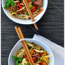 Thai Steak & Noodle Salad