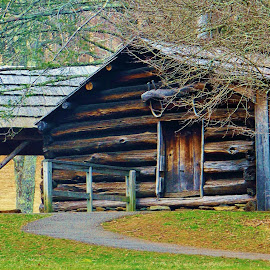old cabin by Delores Mills - Buildings & Architecture Other Exteriors (  )