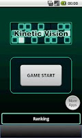 Screenshot of Kinetic Vision Test