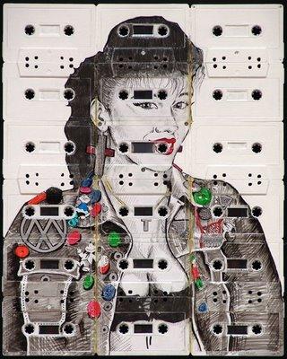 Cassette Tape Art