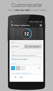 Free Countdown Days - App & Widget APK for Windows 8