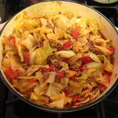 Unstuffed Cabbage Roll