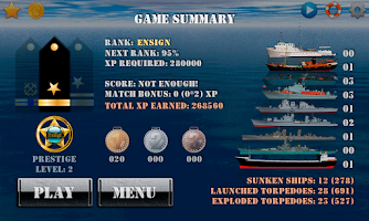 Screenshot of Silent Submarine Career