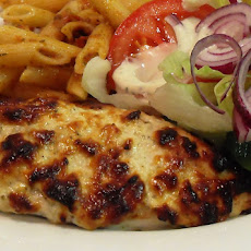 Yogurt & Parmesan Chicken Breasts