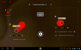 Screenshot of USB/BT Joystick Center GOLD