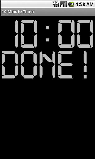 免費生產應用App|10 minute Timer|阿達玩APP