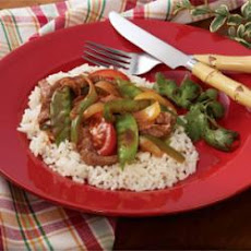 Flash-In-The-Pan Pepper Steak