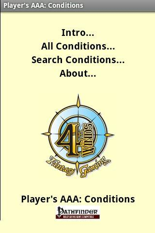 Player's AAA: Conditions