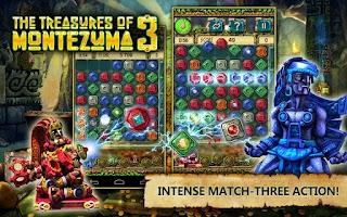 Screenshot of Treasures of Montezuma 3 free