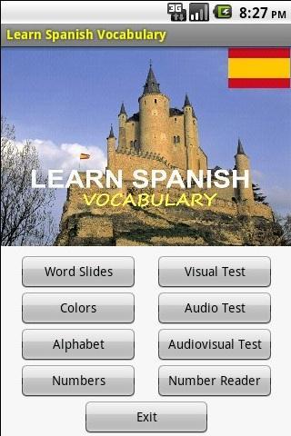 學習西班牙語詞彙
