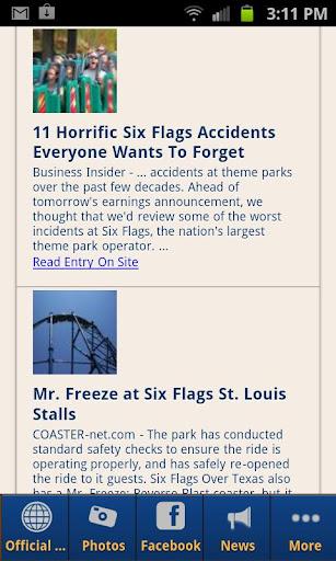 旅遊必備APP下載|Six Flags Over Texas 好玩app不花錢|綠色工廠好玩App