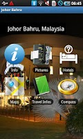 Screenshot of Johor Bahru Travel Guide