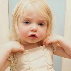 Surprise Me by Cheryl Korotky - Babies & Children Child Portraits