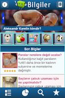 Screenshot of İlginç Bilgiler