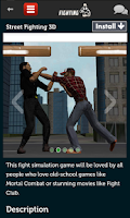 Screenshot of Fighting Games