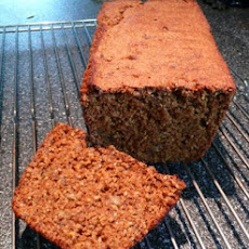 Whole Wheat Cornmeal Molasses Banana Bread