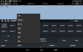 Screenshot of KX3 Companion