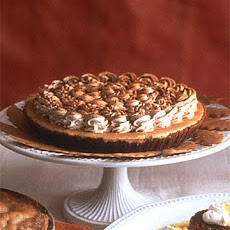 Pumpkin-Mousse Pie