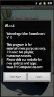 Screenshot of Winnebago Man Soundboard