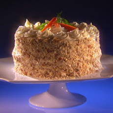 Cardamom Spiced Carrot Cake with White Chocolate Cream Cheese Icing