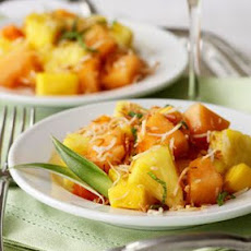 Tropical Fruit Salad with Toasted Coconut