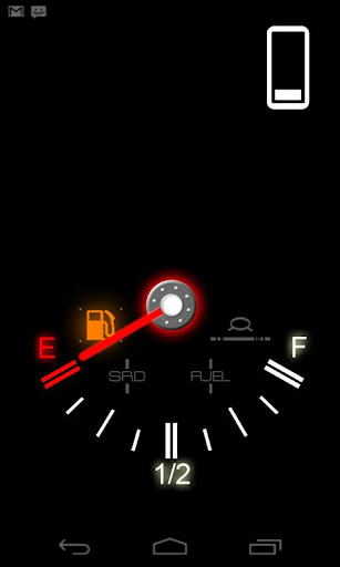 Fuel Gauge Live Wallpaper