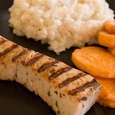 Citrus-herb Barbecued Swordfish