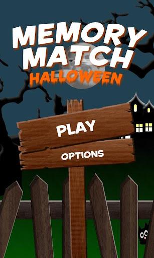 Memory Match Halloween