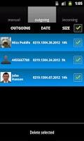 Screenshot of PhoneTapper