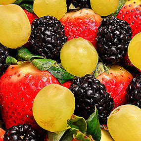 Fruits Mix. by Andrew Piekut - Food & Drink Fruits & Vegetables