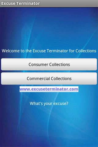 Excuse Terminator Collections