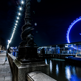 London Eye by Toyin Oshodi - Buildings & Architecture Public & Historical ( holiday, london eye, vacation, westminster, big ben, river thames )