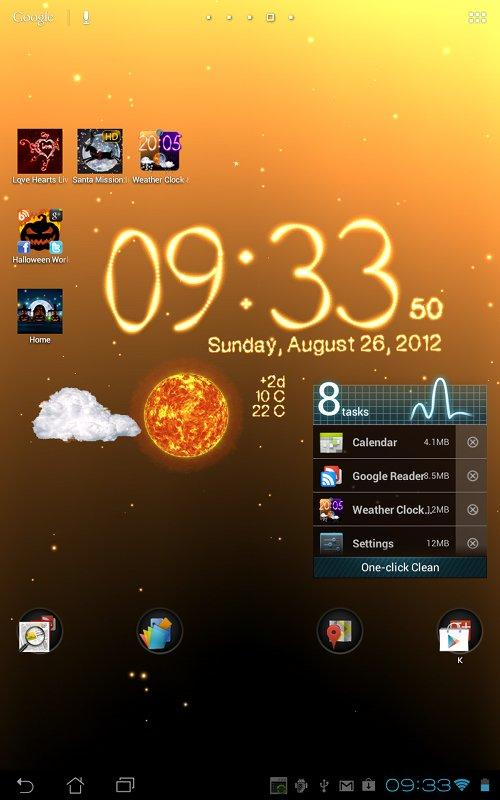 Weather Live Wallpaper Screenshot 10