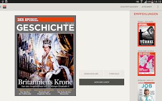 Screenshot of SPIEGEL GESCHICHTE