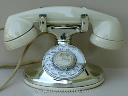 Cradle Phones - Western Electric 202 Silver Imperial 1