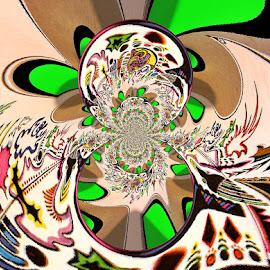 Turbullance by Yvonne Collins - Digital Art Abstract ( edited, abstract, turbelance, digital art, photography )