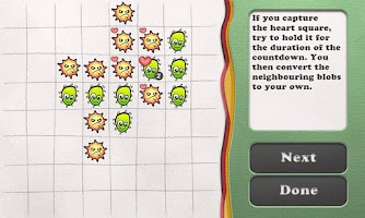 Screenshot of Reversi Paper Blobs Free