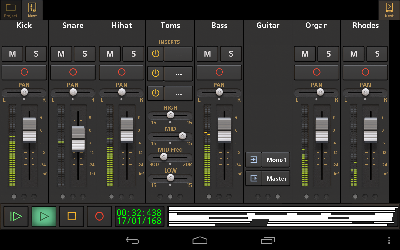 Audio Evolution Mobile Studio Screenshot 17